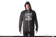 Today on MMAHQ Ultimate Fighting Grey Zip Up Hoodie - $35